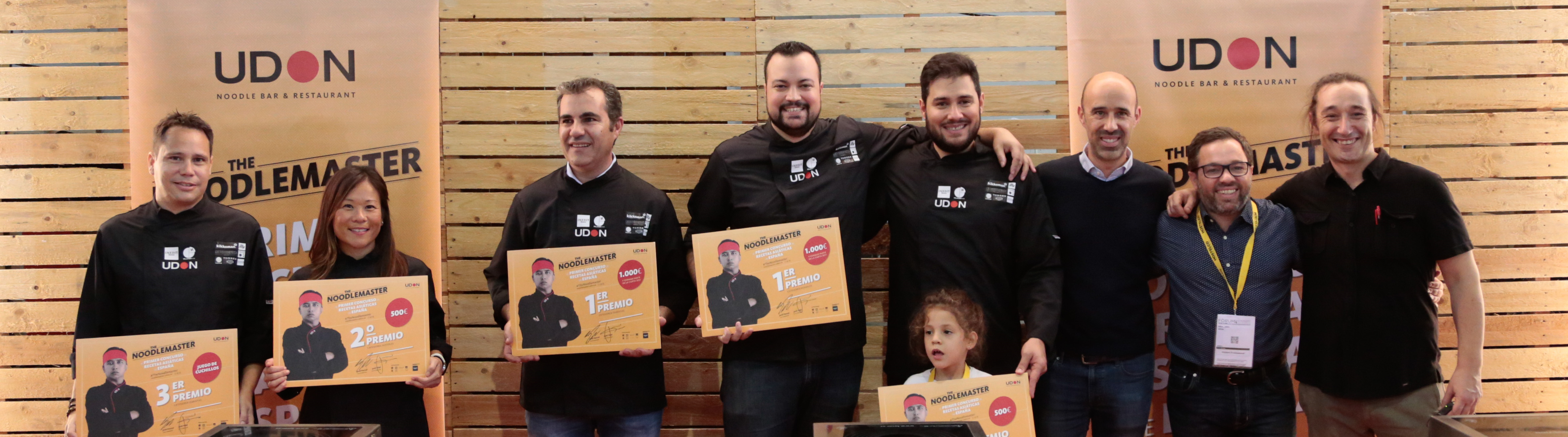 Us presentem els primers Noodlemasters d'Espanya!