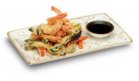 Vegetable Tempura with Prawns