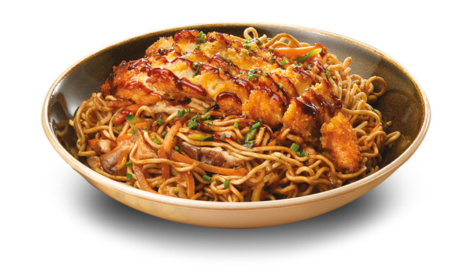 Corral Chicken Yakisoba